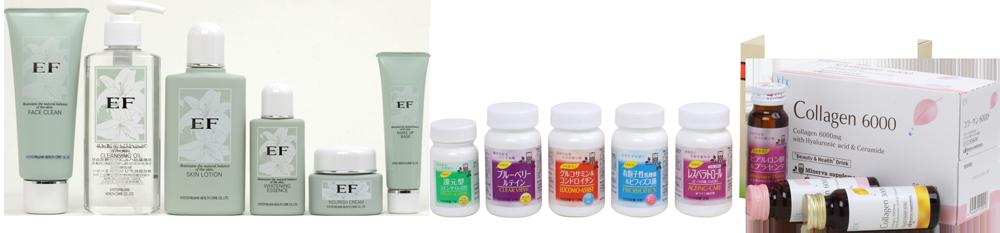 京都薬品ヘルスケアの製品